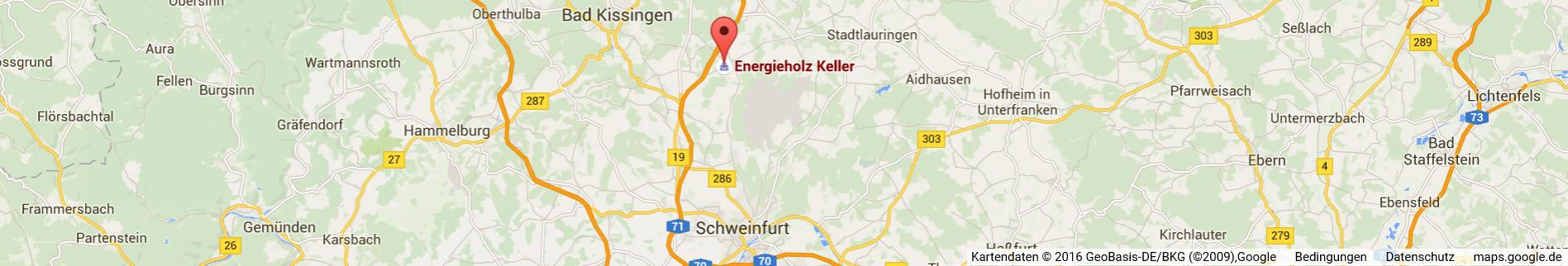 Location bei Schweinfurt und Bad Kissingen